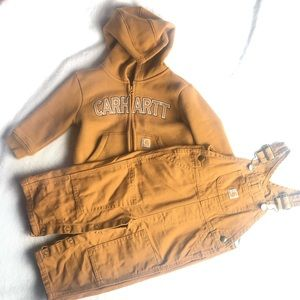 Carhartt bundle jacket & overalls